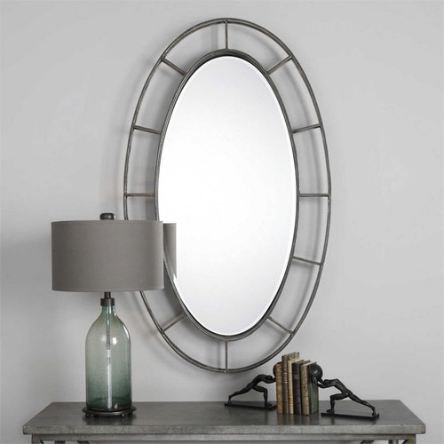 Gilliam Oval Mirror by Uttermost
