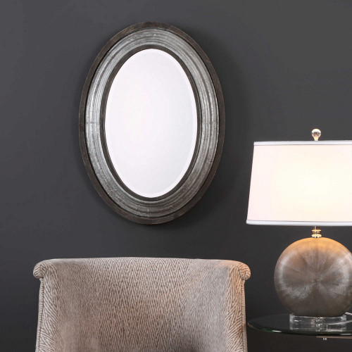 Galina Oval Mirror by Uttermost