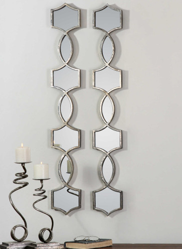 Vizela Mirrors S/2 by Uttermost