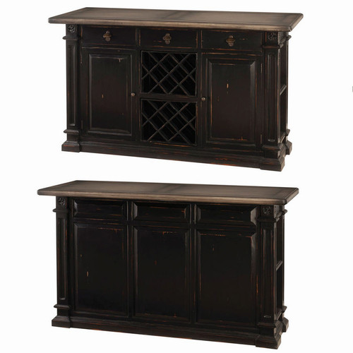 Roosevelt Bar Counter - Size: 107H x 183W x 71D (cm)