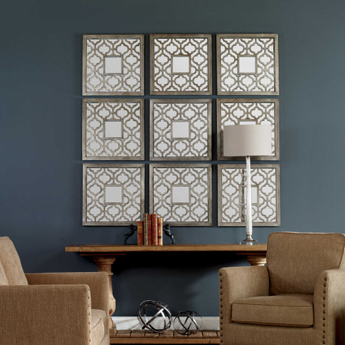 Sorbolo Mirrored Wall Decor S/2 by Uttermost