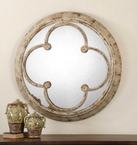 Livianus Round Mirror by Uttermost