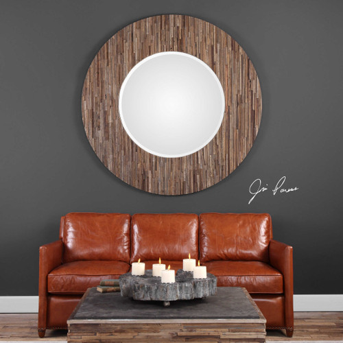 Malia Round Mirror by Uttermost