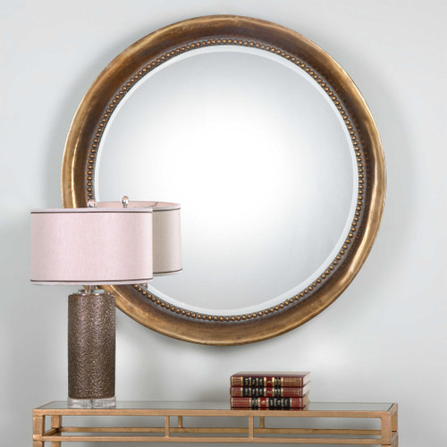 Treska Round Mirror by Uttermost