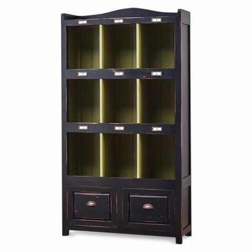 Hancock 2 Drawer Storage Cabinet - Size: 187H x 99W x 41D (cm)
