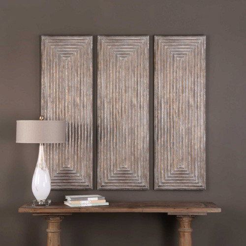 Lokono Wood Wall Panel by Uttermost
