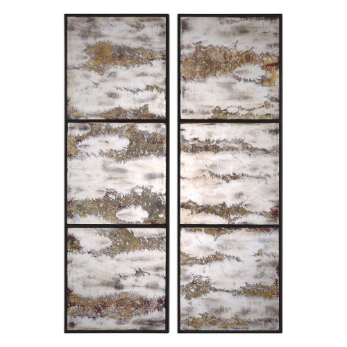 Rahila Mirrored Wall Panels S/2 by Uttermost