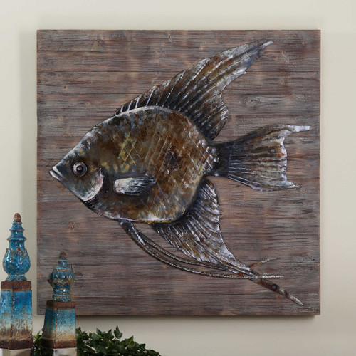 Iron Fish Metal Wall Decor by Uttermost