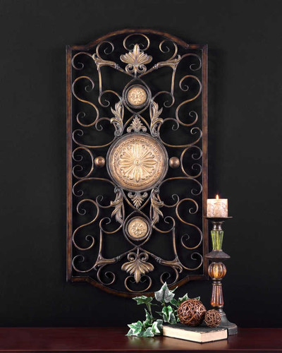 Micayla Large Metal Wall Panel by Uttermost