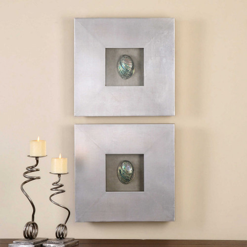 Abalone Shells Wall Decor S/2 by Uttermost