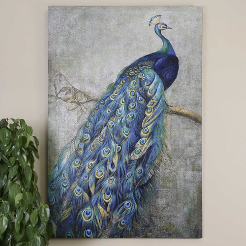 Proud Papa Hand Painted Canvas by Uttermost
