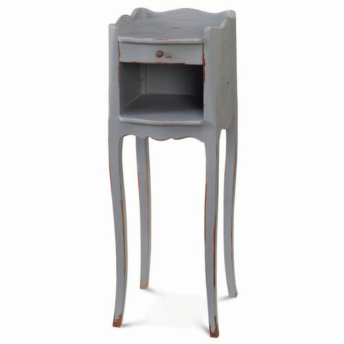 Claudette Lamp Table - Size: 69H x 23W x 25D (cm)
