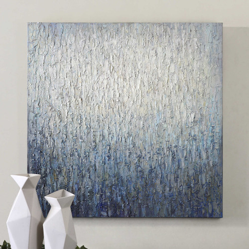 Outside The Window Hand Painted Canvas by Uttermost