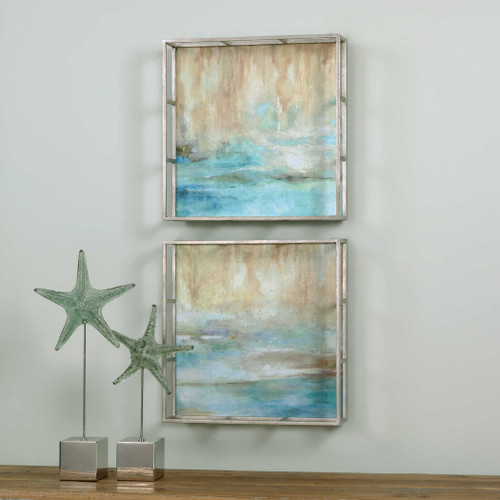 Through The Mist Oil Reproductions S/2 OR by Uttermost