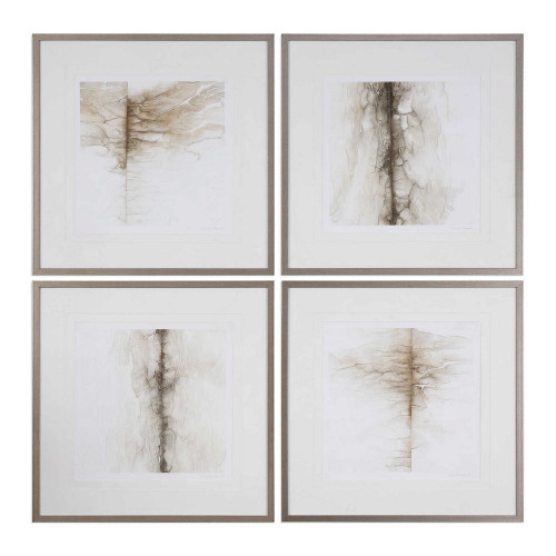 Infared Memory Framed Prints S/4 by Uttermost
