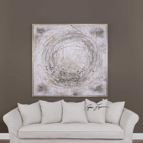 Graffiti Hand Painted Canvas by Uttermost