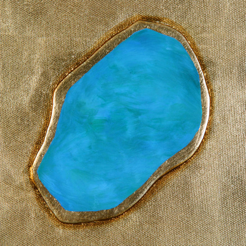 Agate Jewels Hand Painted Canvases S/9