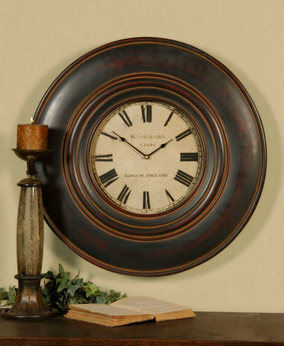 Adonis Wall Clock by Uttermost