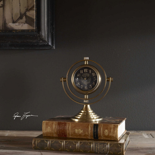 Almonzo Clock by Uttermost
