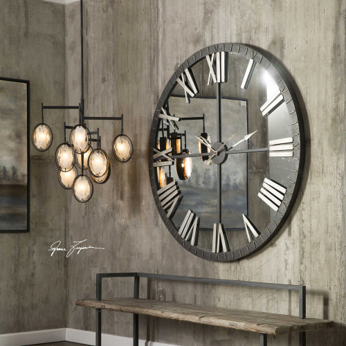 Amelie Wall Clock by Uttermost