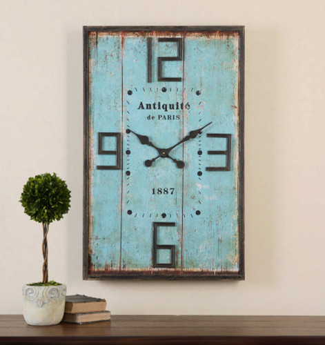 Antiquite Wall Clock by Uttermost