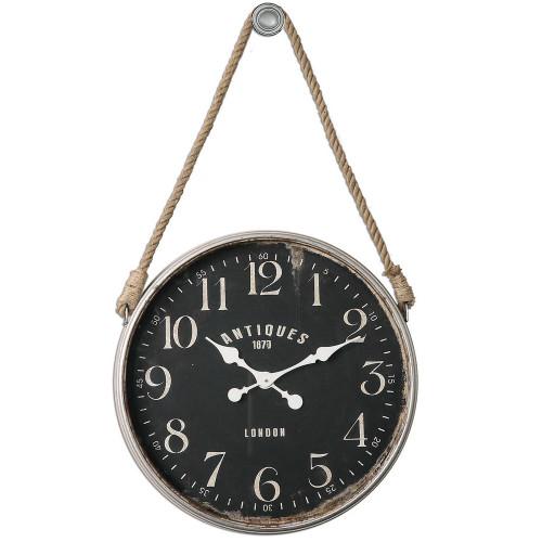Bartram Wall Clock by Uttermost