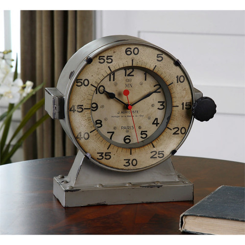 Marine Mantel Clock by Uttermost