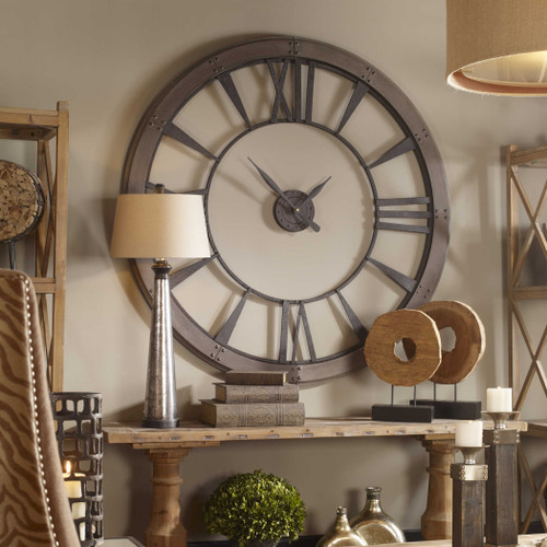 Ronan Large Wall Clock by Uttermost