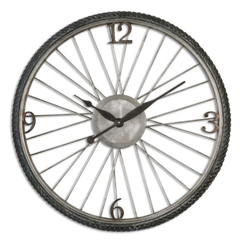 Spokes Wall Clock by Uttermost