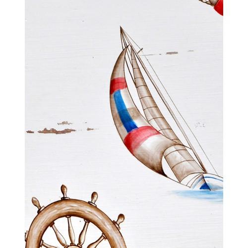 A170 Sailing Artwork by Bramble Co