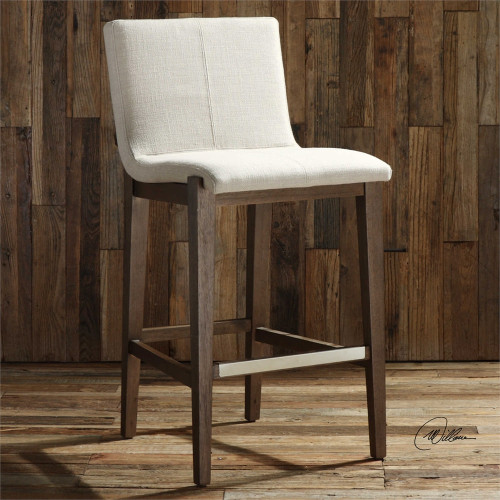 Klemens Bar Stool by Uttermost