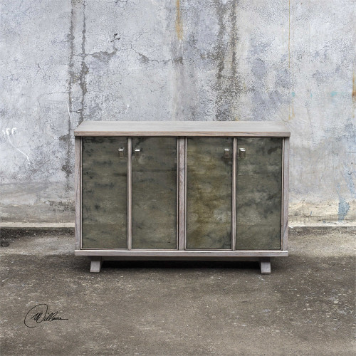 Corban Console Cabinet by Uttermost