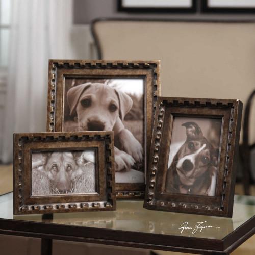 Kalya Photo Frames S/3 by Uttermost