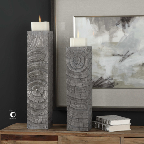 Odion Candleholders S/2 by Uttermost