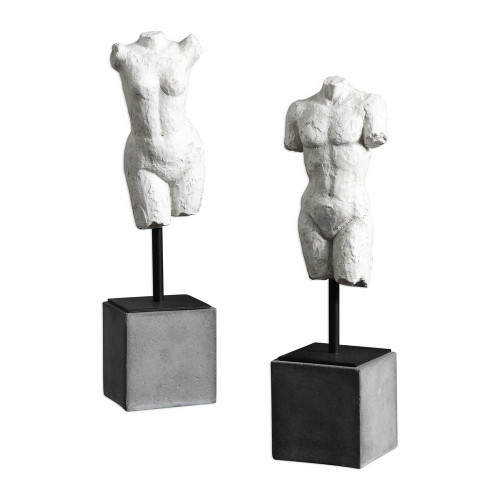 Valini Sculptures S/2 by Uttermost