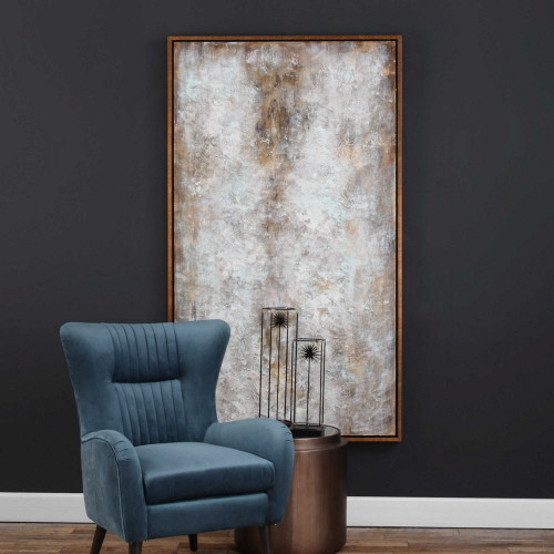 Blizzard Hand Painted Canvas by Uttermost