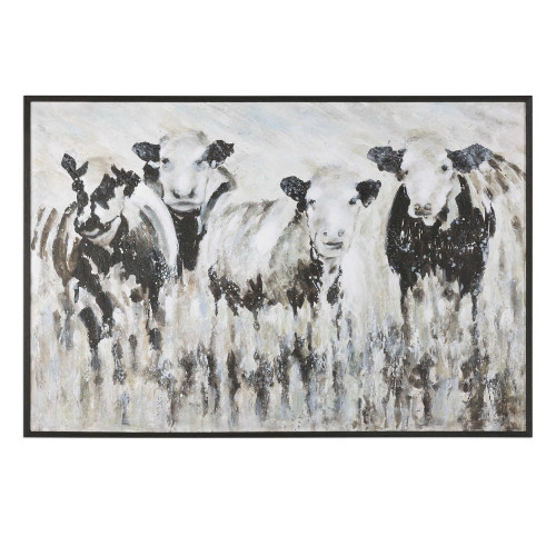 Fascination Hand Painted Canvas by Uttermost