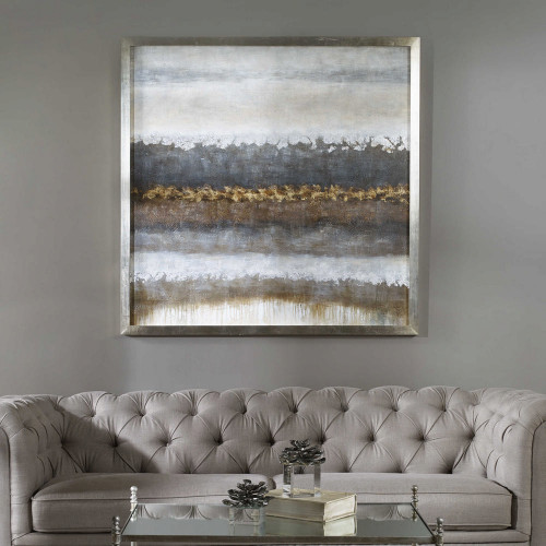 Layers Hand Painted Canvas by Uttermost