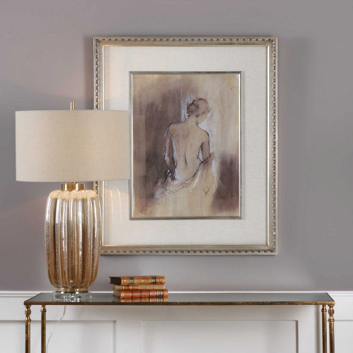Contemporary Draped Figure Framed Print by Uttermost