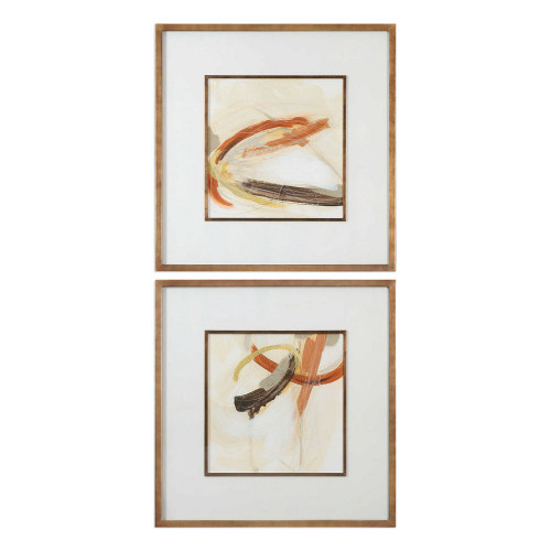 Upstage Framed Prints S/2 by Uttermost