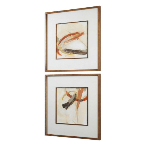 Upstage Framed Prints S/2