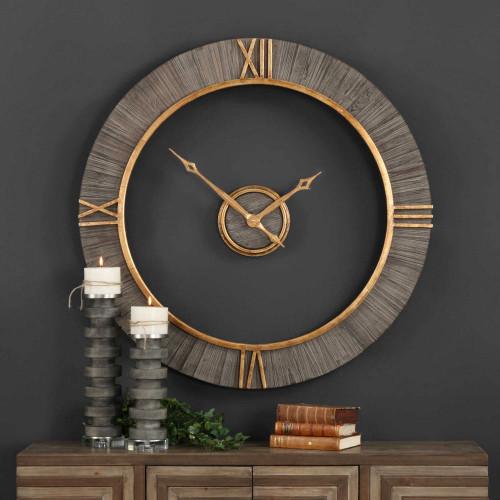 Alphonzo Wall Clock by Uttermost