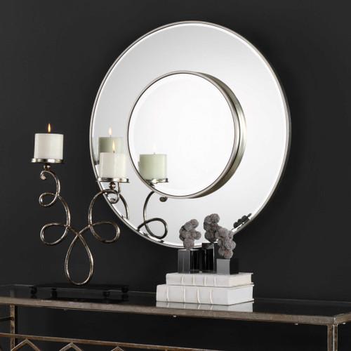 Odelia Round Mirror by Uttermost