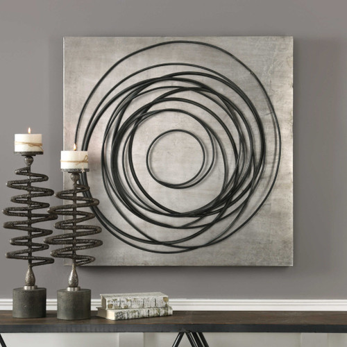 Whirlwind Metal Wall Decor by Uttermost