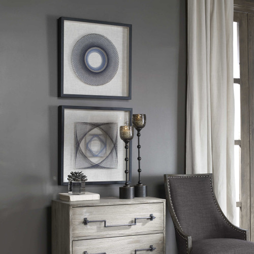 String Duet Wall Decor S/2 by Uttermost