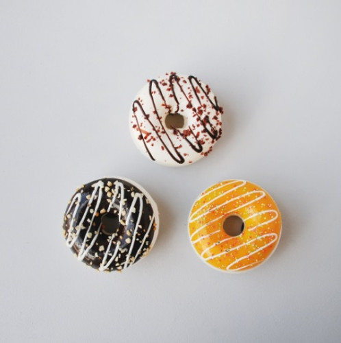 Donut Magnets - Set of 3