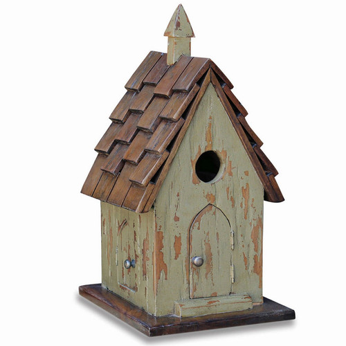 Bird House G - Size: 48H x 25W x 30D (cm)