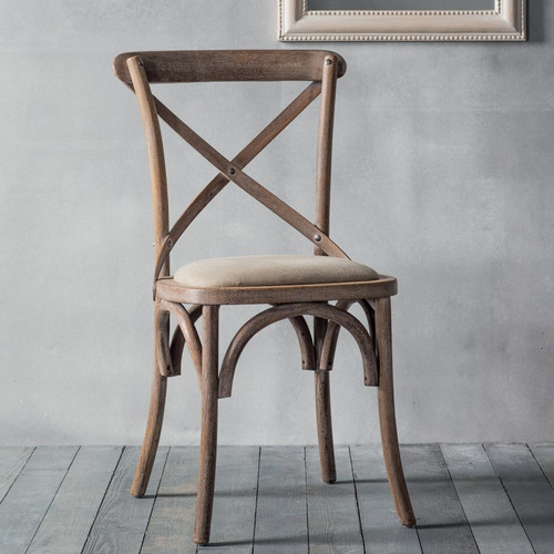 Newhaven Bentwood Chair w/Fabric Seat (Natural)