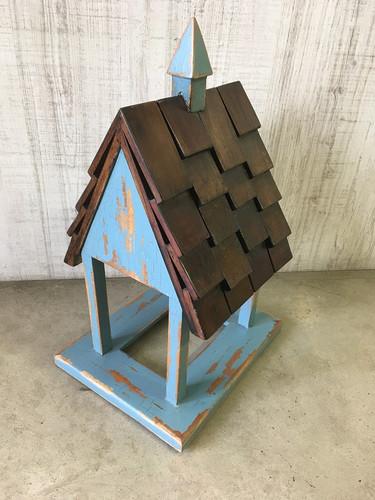 Bird Feeder C - Hand-crafted - FLOOR STOCK