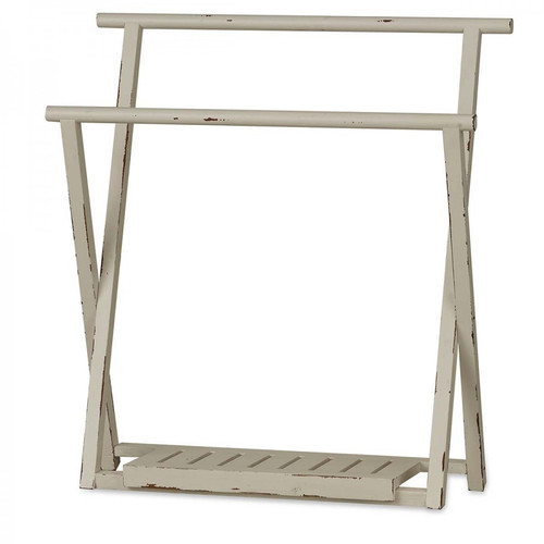 Templeton Folding Towel Rack - Size: 90H x 84W x 32D (cm)